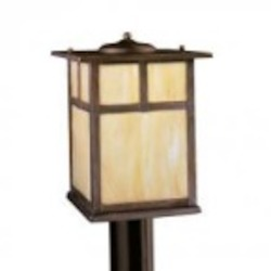 Kichler One Light Canyon View Post Light - 9953CV
