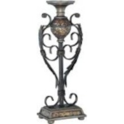 Lite Source Inc. CANDLE HOLDER - MOSAIC - C41032