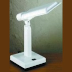 Lite Source Inc. PL DESK LAMP 9W, WHT,9W,''PL''TYPE - LSP-710WHT