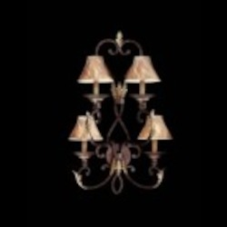 Minka Metropolitan Golden Bronze Optional Shade-sh1949 Shade Wall Light - N2237-355