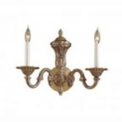 Minka Metropolitan Antique Classic Brass Wall Light - N700202