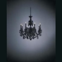 Minka Metropolitan Eight Light White Up Chandelier - N9006