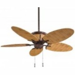 Vintage Rust 5 Blade 52In. Indoor / Outdoor Ceiling Fan - Light And Blades Included