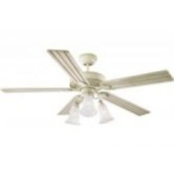 Monte Carlo Three Light White Ceiling Fan - 5OS52DWD