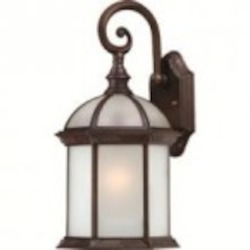 Nuvo Boxwood ES - 1 Light - 16'' Outdoor Wall W/ Frosted Glass - (1) 18W GU24 Base Lamp Included - 60/4982