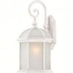 Nuvo Boxwood ES - 1 Light - 26'' Outdoor Wall W/ Frosted Glass - (1) 26W GU24 Base Lamp Included - 60/4987
