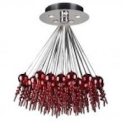 PLC Lighting Dolce - 96949 RED
