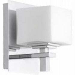 Quorum 1LT SQUARE WALL MT - CH - 5665-1-14