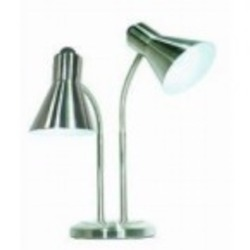 Satco Products Inc. Nickel Desk Lamp - 60-806