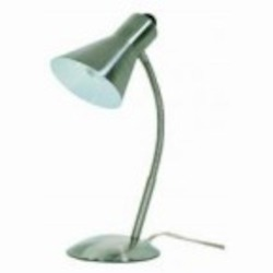 Satco Products Inc. Nickel Desk Lamp - 60-808