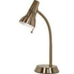 Satco Products Inc. HALOGEN GOOSENECK DESK LAMP - 60-853