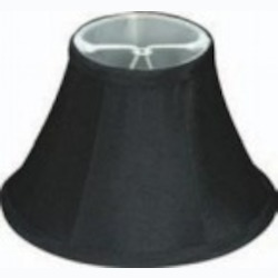 Satco Products Inc. BLACK LINEN CLIP ON SHADE - 90-2485