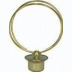 Satco Products Inc. SHORT ROUND BULB CLIP W/FINIAL - 90-2529