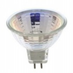 Satco Products Inc. 20 watt halogen; MR16; BAB; 2000 average rated hours; Miniature 2 Pin Round base; 12 volts - S3461
