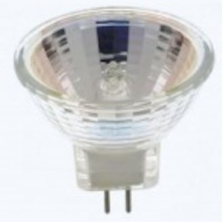 Satco Products Inc. 20 watt halogen; MR11; FTD; 2000 average rated hours; Sub Minature 2 Pin base; 12 volts - S3465