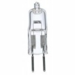 Satco Products Inc. 20 watt halogen; T3; 2000 average rated hours; 300 lumens; Bi Pin base; 12 volts - S3468