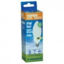 Satco Products Inc. 7W/2700 CFL TORPEDO - S5585