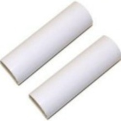 Satco Products Inc. 2 - 4'' WHITE PLASTIC EDISON CANDLE COVERS - S70-371