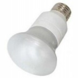Satco Products Inc. 5 watt; R20; compact fluorescent; 2700K; 82 CRI; Medium base - S7257