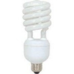 Satco Products Inc. 32 watt; Hi-Pro Spiral; compact fluorescent; 4100K; 85 CRI; Medium base - S7423