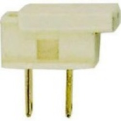 Satco Products Inc. WHITE SLIDE ON PLUG FOR SPT-2 - 90-2606