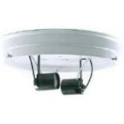 Satco Products Inc. 8'' 2-LIGHT CEILING PAN - 90-684