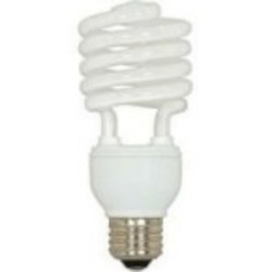 Satco Products Inc. 23 watt; Mini Spiral; compact fluorescent; 5000K; 82 CRI; Medium base - S6276