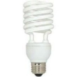 Satco Products Inc. 26 watt; Mini Spiral; compact fluorescent; 2700K; 82 CRI; Medium base - S7231