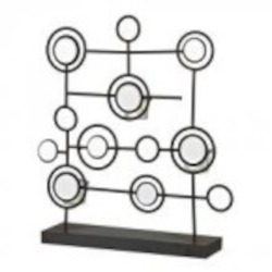 Sterling Industries Iron And Mirror Tea Light Stand - 129-1059