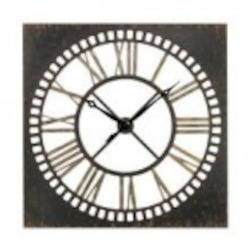 Sterling Industries Large Metal Wall Clock - 129-1093