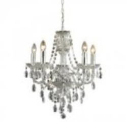 Sterling Industries Cullard-5 Light Pendant In Clear Finish - 144-024