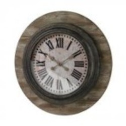 Sterling Industries Wood And Metal Wall Clock - 26-8642