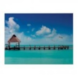 Sterling Industries Maldives-Maldives Scene Printed On Glass - 51-10124