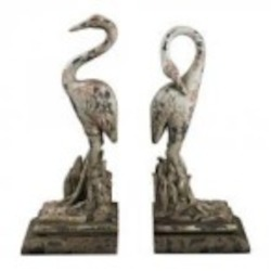 Sterling Industries Heron Book Ends - 93-10101