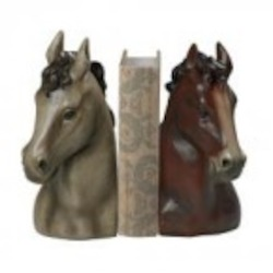 Sterling Industries Horse Head Bookends-Horse Head Book Ends - 93-19365/S2