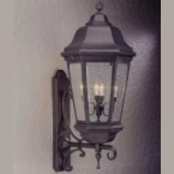 Troy Black Wall Lantern - B6836MB