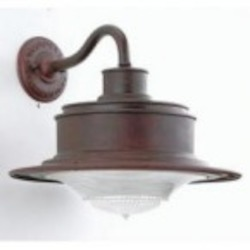 Troy One Light Rust Outdoor Wall Light - B9390OR