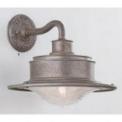 Troy One Light Gray Outdoor Wall Light - B9391OG