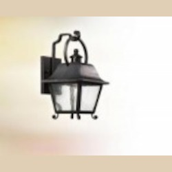 Troy One Light Bronze Wall Lantern - B9441NB-D