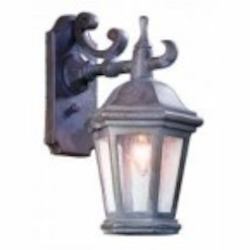 Troy One Light Bronze Wall Lantern - BCD6890BZP