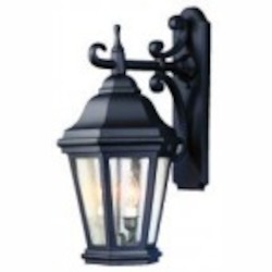 Troy Two Light Black Wall Lantern - BCD6891MB