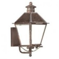 Troy One Light Brass Wall Lantern - BCD9130NAB