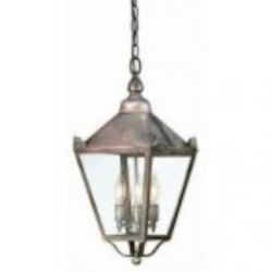 Troy Three Light Black Hanging Lantern - F8945CI