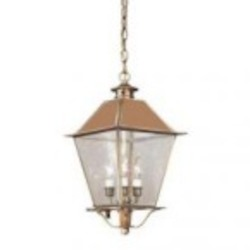 Troy Three Light Black Hanging Lantern - F9136CI