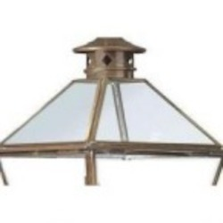 Troy One Light Rust Hanging Lantern - FCD8953NR