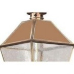 Troy Three Light Brass Hanging Lantern - FCD9136NAB