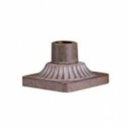 Bronze Leaf Pier Mount