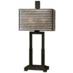 Uttermost Becton Modern Metal Table Lamp - 26291-1