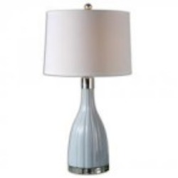 Uttermost Monona Light Blue Table Lamp - 26563