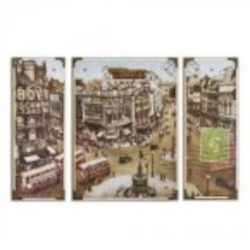 Uttermost Picadilly Circus Wall Art, S/3 - 32300